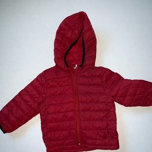 Baby Gap Primaloft Red Jacket Used SZ 12-18 month